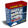 Thumbnail How to Create Mini Sites in 30 Minutes (MRR)