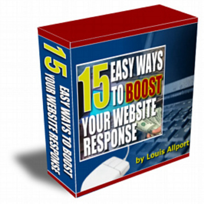 Product picture 15 Easy Ways to Boost Your Website Response (MRR)