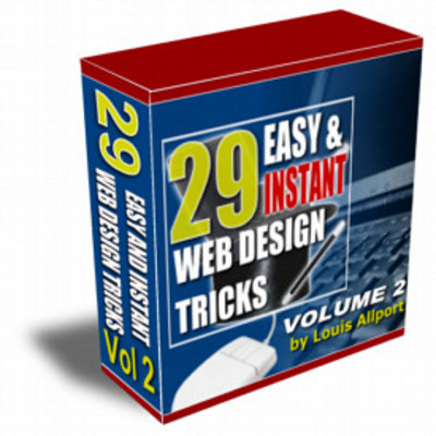 Product picture 29 Easy and Instant Web Design Tricks (MRR)