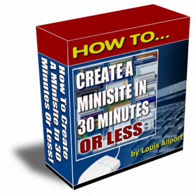 Product picture How to Create Mini Sites in 30 Minutes (MRR)