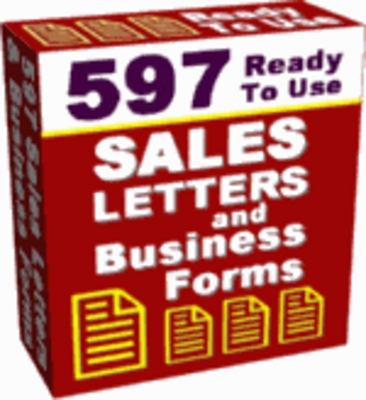Product picture 597 Ready to Use Business Forms with MRR