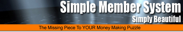 Product picture Simple Member System with Affiliate Program (MRR)