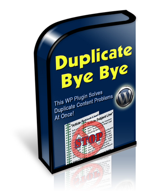 Product picture Duplicate Bye Bye Wordpress Plugin with MRR
