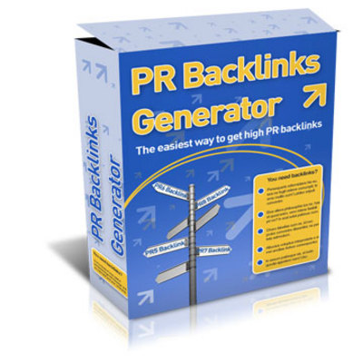 Product picture PR Backlinks Generator with MRR