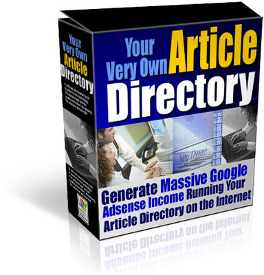 Product picture Your Own Article Directory with MRR